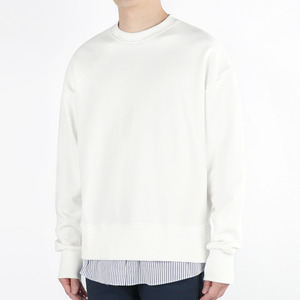 TRMARK SHIRT LAYERD SWEAT MTM WHITE