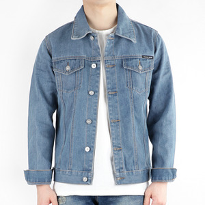 TRMARK FLAIR DENIM TRUCKER JACKET BLUE