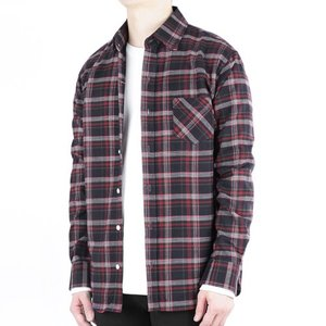 TRMARK CK_007 TARTAN CHECK SHIRT RED