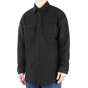 TRMARK OVER FLEECE SHIRT BLACK