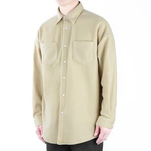 TRMARK OVER FLEECE SHIRT BEIGE