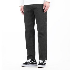 TRMARK WIDE TAPERED SEAM DENIM BLACK