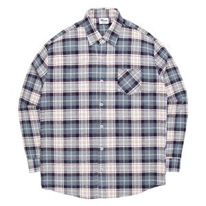 TRMARK NP_001 SCOTS CHECK SHIRT GRAY