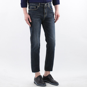 TRMARK SLIM FIT #2000 CROP D-BLUE